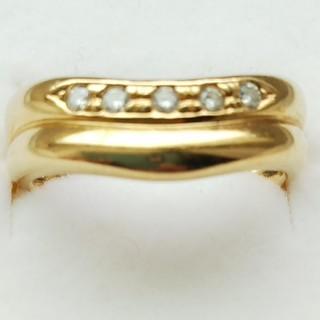 タサキ(TASAKI)のTASAKI k18 ピンキー リング(リング(指輪))