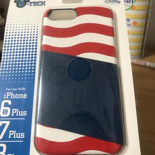 iPhone plus ケース ミッキーマウス 新品、未開封
