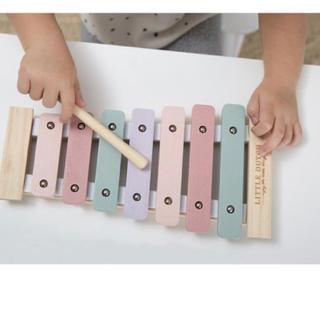 ボンポワン(Bonpoint)の新品 未使用 リトルダッチ 木琴 ピンク(楽器のおもちゃ)