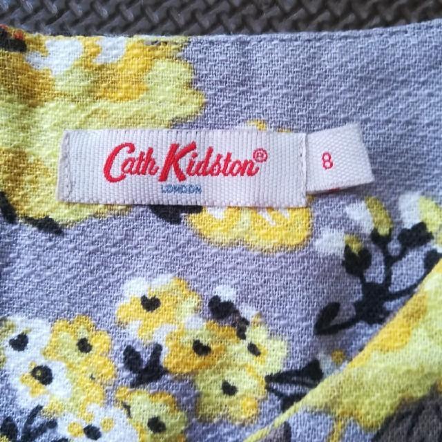 Cath Kidston(キャスキッドソン)のキャス・キッドソン ワンピース 8  半袖 レディースのワンピース(ミニワンピース)の商品写真