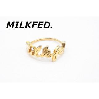ミルクフェド(MILKFED.)の【R-436】MILKFED.  シルバー 928 リング 指輪 11号(リング(指輪))