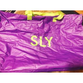 スライ(SLY)のsly 2019 福袋 バッグ(ショップ袋)
