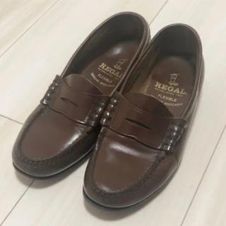リーガル(REGAL)の★リーガル ローファー 革靴 ヴィンテージブラウン 22cm★(ローファー/革靴)