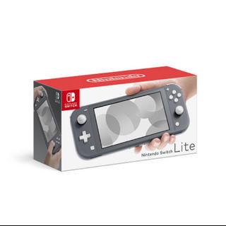 Nintendo Switch - Nintendo Switch Lite本体 グレー スイッチ ライト