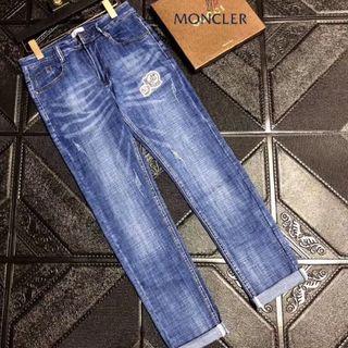 MONCLER - MONCLER デニムパンツ ロングパンツ ジーンズ 32