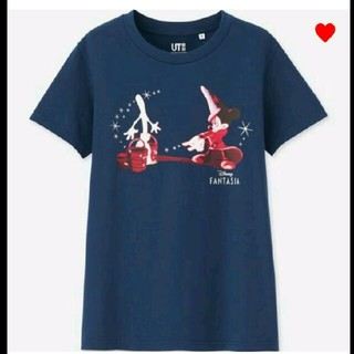 ユニクロ(UNIQLO)のユニクロミッキーファンタジアTシャツXL  新品タグ付き(Tシャツ(半袖/袖なし))