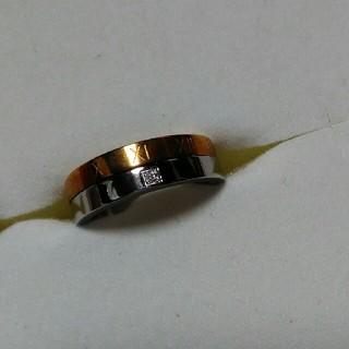 ゴールド&シルバーのカラーリング (リング(指輪))