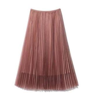 Demi-Luxe BEAMS - デミルクスビームス オーガンジープリーツスカート