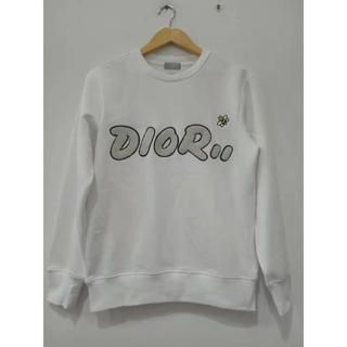 ディオール(Dior)のDIOR コットン スウェットシャツ KAWS コラボ 刺繍(スウェット)
