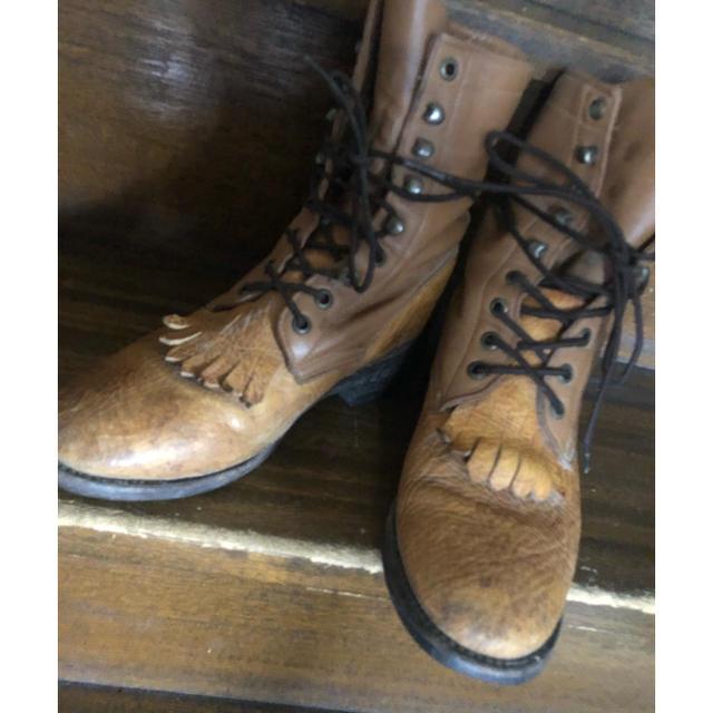 REDWING(レッドウィング)のヴィンテージ ブーツ レディース レディースの靴/シューズ(ブーツ)の商品写真