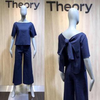セオリー(theory)のtheory♡セオリー リネンセットアップ(セット/コーデ)