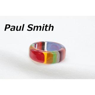 ポールスミス(Paul Smith)の【R-454】Paul Smith アクリル マルチ リング 指輪 12号(リング(指輪))