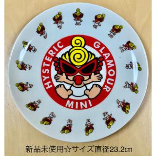 HYSTERIC MINI - ヒスミニ ☆正規品☆新品☆大皿☆陶器☆赤☆皿☆プレート☆食器☆④