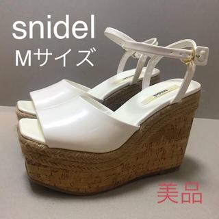 snidel - スナイデル  ジュード巻きウェッジサンダル