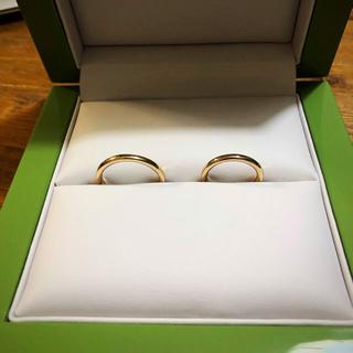 結婚指輪 18k ピンクゴールド(リング(指輪))
