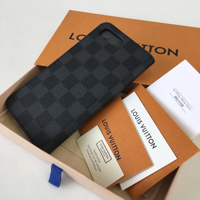 iphone6 と iphone8 ケース - LOUIS VUITTON - ☆美品☆2018年製 ルイヴィトン iPhone8+ フォリオ☆正規品☆の通販