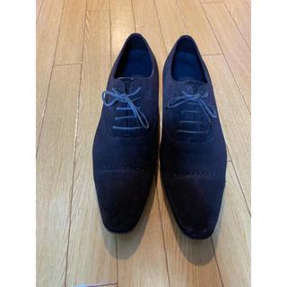 ランバン(LANVIN)のLANVIN 靴 スウェードローファー(ドレス/ビジネス)