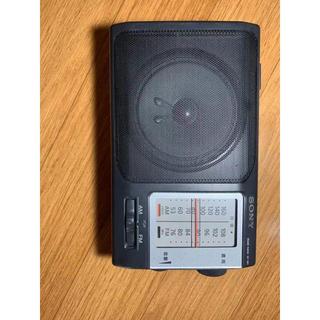 ソニー(SONY)のスコフィールド様専用 SONY FM/AMポータブルラジオ ICF-801(ラジオ)