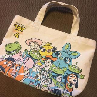 シマムラ(しまむら)の未使用☆ トイストーリー4 キャンバス ミニバッグ(キャラクターグッズ)