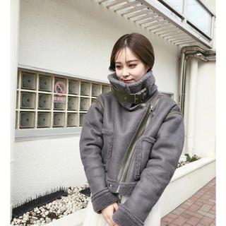 アメリヴィンテージ(Ameri VINTAGE)のjuemi Short Mouton Jacket(ムートンコート)