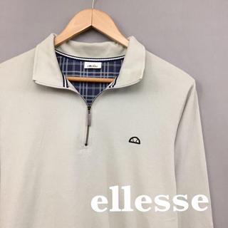 エレッセ(ellesse)のエレッセ ellesse ハーフジップ ロンT 長袖 Tシャツ メンズ Mサイズ(シャツ)