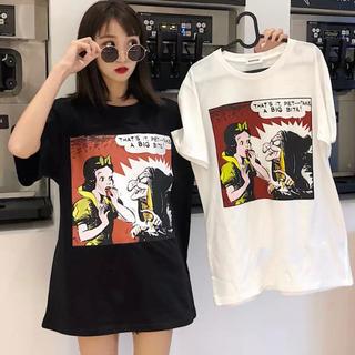 白雪姫 パロディー Tシャツ(Tシャツ(半袖/袖なし))