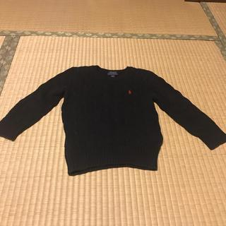 ポロラルフローレン(POLO RALPH LAUREN)のラルフローレン セーター ネイビー 100(ニット)