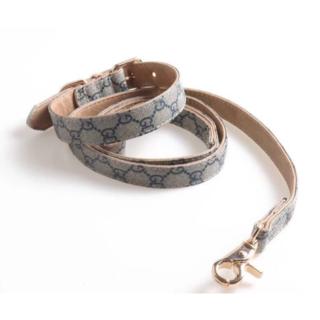 グッチ(Gucci)のグッチ新品 GUCCI犬用首輪&リード(リード/首輪)