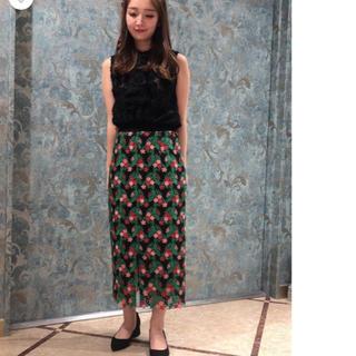 GRACE CONTINENTAL - グレースコンチネンタル スモールフラワースカート