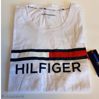 TOMMY HILFIGER - 【新品】トミー ロゴ タンクトップ ホワイト S