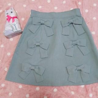 メリージェニー(merry jenny)の♥merry jenny リボンたっぷりミニスカート(ミニスカート)