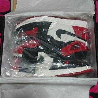 NIKE - Jordan1 bred toe  27.5