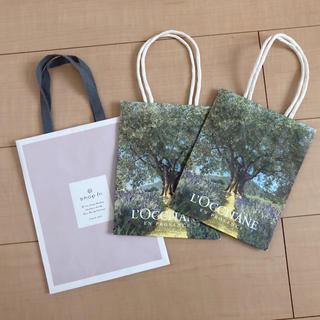 ロクシタン(L'OCCITANE)の紙袋 ⁑ shop in・L'OCCITANE(ショップ袋)