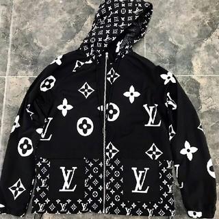 ルイヴィトン(LOUIS VUITTON)のジャケット   黒色と白色(Gジャン/デニムジャケット)
