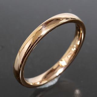 ダミアーニ(Damiani)のダミアーニ DAMIANI シンプル ダイヤ リング size55 K18PG (リング(指輪))