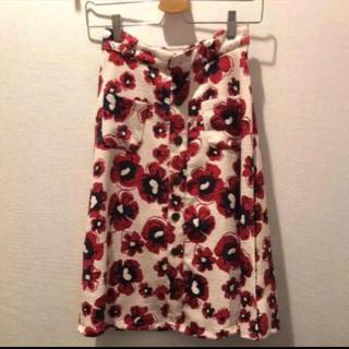 LIZ LISA - リズリサ 花柄 ロングスカート