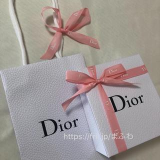 ディオール(Dior)の限定 ピンク ディオール ラッピング セット プレゼントボックス ショップバッグ(ラッピング/包装)
