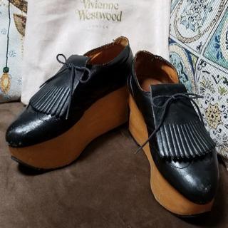 ヴィヴィアンウエストウッド(Vivienne Westwood)の※期間限定値下げ※ Vivienne Westwood ロッキンゴルフ ブラック(ローファー/革靴)