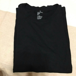 ムジルシリョウヒン(MUJI (無印良品))の感謝sale♥7764♥無印良品 良品計画♥着やすい&合わせやすいトップス(Tシャツ/カットソー(半袖/袖なし))