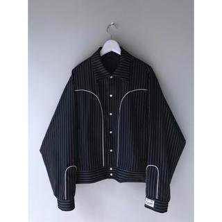 COMME des GARCONS - R.M GANG  Blow jacket chalk