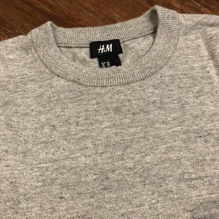 エイチアンドエム(H&M)のH&M グレーニット(ニット/セーター)