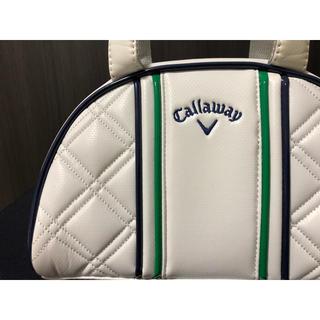Callaway Golf - 訳あり キャロウェイ ラウンドポーチ Callaway バッグ レディース