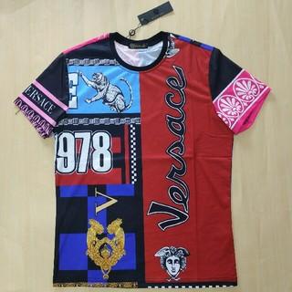 VERSACE - VERSACE 夏 Tシャツ 男女兼用 超美品 個性 ファッション