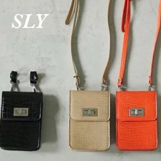 スライ(SLY)の【新品】SLYショルダーバッグ♡(ショルダーバッグ)