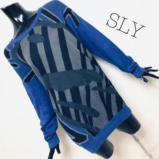 SLY - SLY*ニットワンピース