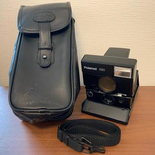 純正ケース付属 Polaroid 690 ポラロイド690 美品