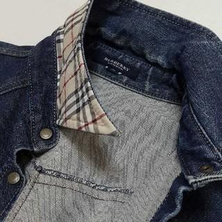 バーバリー(BURBERRY)のBURBERRYウエスタンデニムシャツジャケット(Gジャン/デニムジャケット)