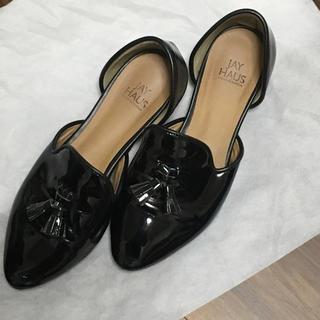 ディーホリック(dholic)の🐈🐾🐾歩きやすいエナメルパンプス(ローファー/革靴)
