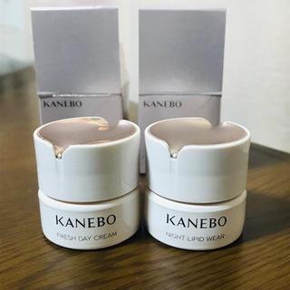 Kanebo - KANEBO フレッシュデイクリーム、ナイトリピッドウェア