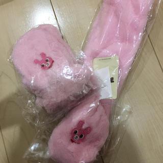 ミキハウス(mikihouse)の新品 大人気 ミキハウス マフラー 手袋セット(マフラー/ストール)